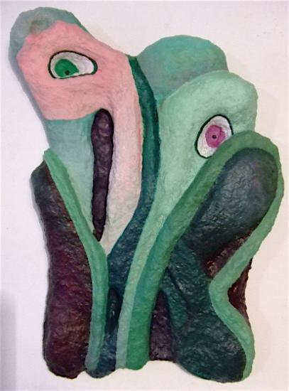 tête de plante 35X25 cm