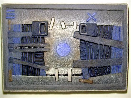 nez bleu 50X72 cm